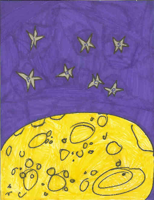 25 - A Wild Trip to the Moon - 11x8.5